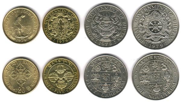 bhutan-2006-circulating-coins